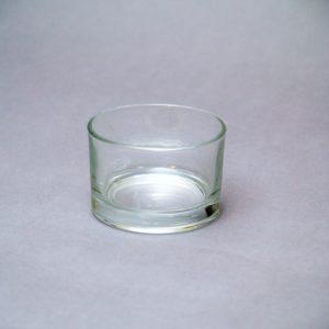 Zems stikla cilindrs/svečturis